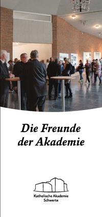 Cover Flyer Fördergesellschaft
