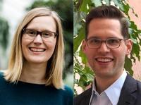Dr. Sarah Thieme und Dr. Martin Belz