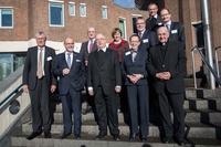 Gruppenbild vor der Akademie
