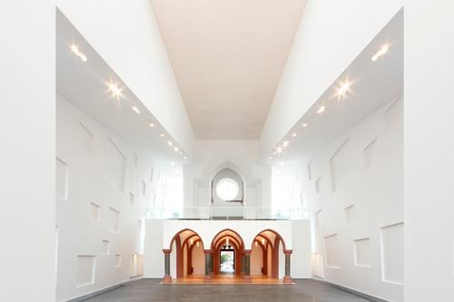Kirche weitergebaut VIII, 2017: Christuskirche, Köln, Architektengemeinschaft Maier Hollenbeck, Foto: Axel Hartmann