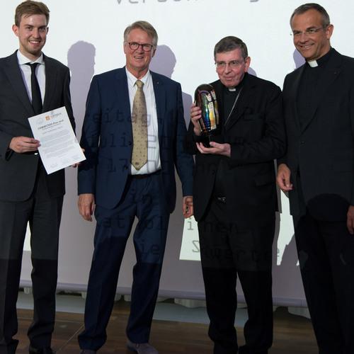 Preisträger Kurt Kardinal Koch (2.v.r.)