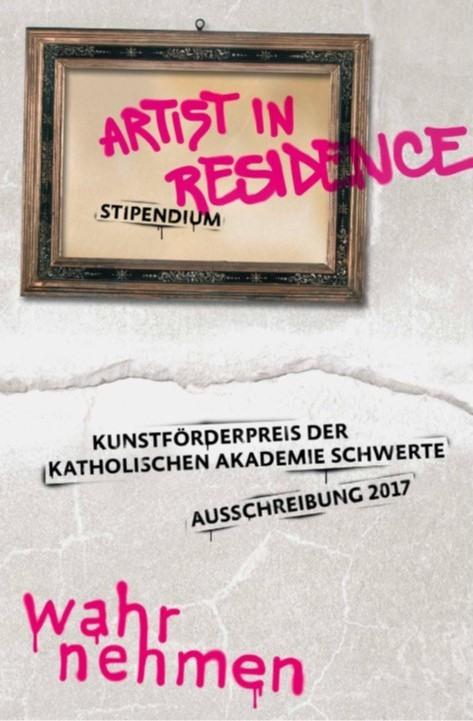 Artist in Residence-Stipendium 2017