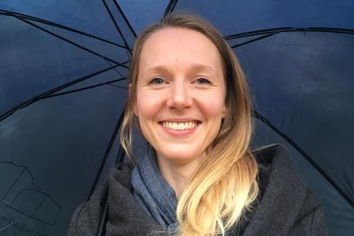 AiR-Stipendiatin 2019: Claudia Marr (Foto: S. Lieb)