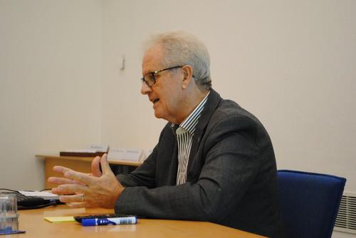 Dr. Horst Luckhaupt im Gespräch