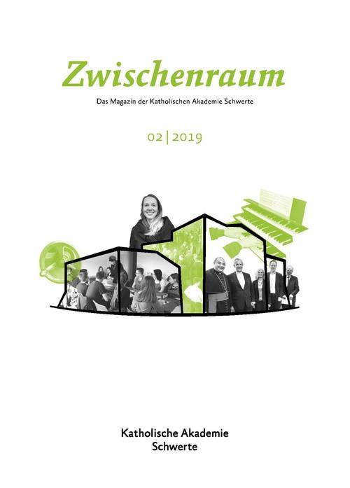 """Cover """"Zwischenraum"""""""