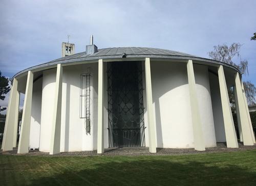Abb. 1: Hürth-Kalscheuren, Böhm-Chapel (Foto: S. Lieb)