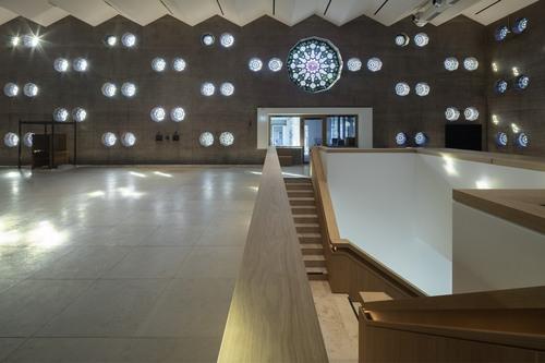 Kirche weitergebaut XI, Walsenhauskirche, Köln, Gottfried Böhm, Umbau: nebelpössl architekten (Foto: HG Esch, Hennef)