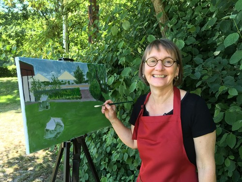 Kunstworkshop Pleinair-Malerei