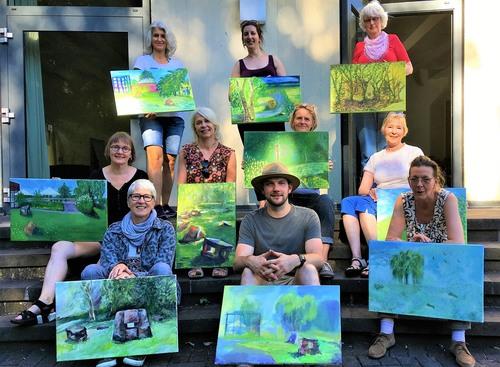 Kunstworkshop Pleinair-Malerei