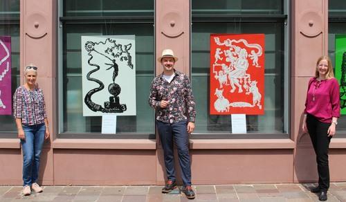 Ausstellung Matvey Slavin in der BKC Paderborn
