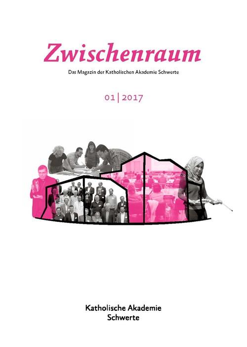 """Cover """"Zwischenraum 1/2017"""""""