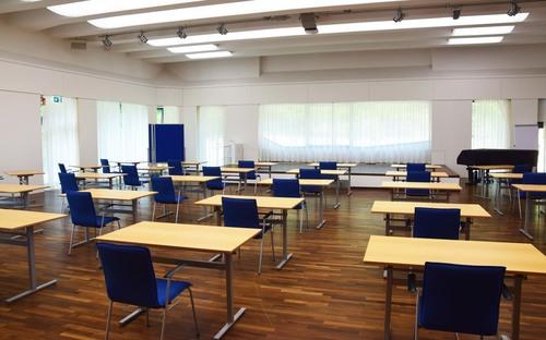 Bestuhlung Großer Saal (© Katholische Akademie Schwerte)