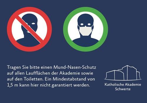 Plakat M-N-Schutz (© Katholische Akademie Schwerte)