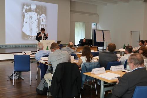 """Teilnehmerinnen und Teilnehmer der Tagung """"Lorenz Jaeger als Ökumeniker"""""""