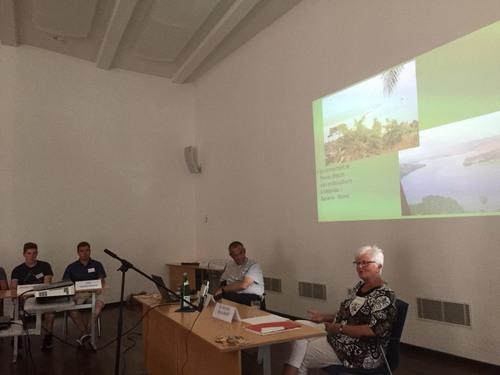 Dr. Monika-Maria Wolff referierte über ihr Leben im Kongo und Südafrika. Foto: Akademie