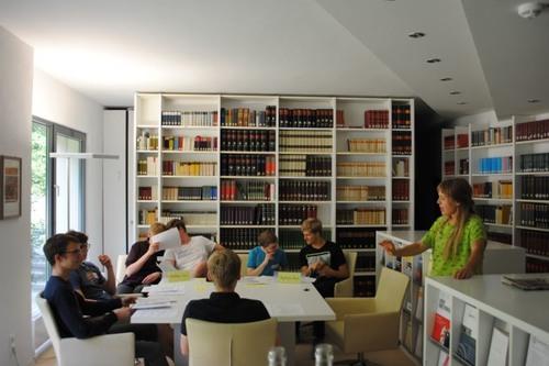 Vorbereitungen auf den »Moot Court«. Bild: Akademie