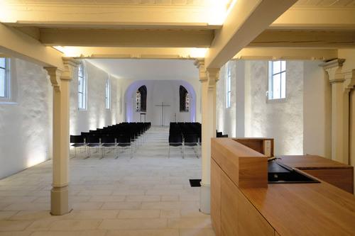 Kirche weitergebaut XII, 2021: Bruchhausen, Rodentelgenkapelle, clemensundmaas architektinnen, Arnsberg, Foto: clemensundmaas