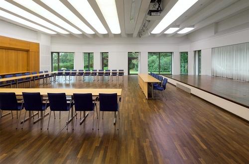 Beispiel-Aufbau für Konferenzen