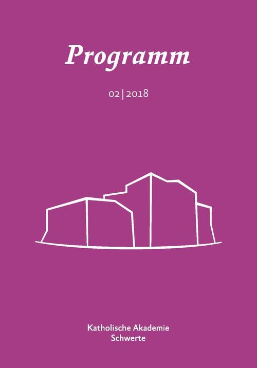 Cover Halbjahresprogramm 2/2018