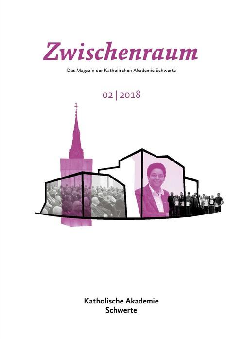"""Cover """"Zwischenraum"""" 2/2018"""