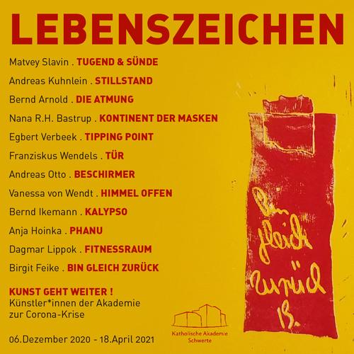 Ausstellung LEBENSZEICHEN