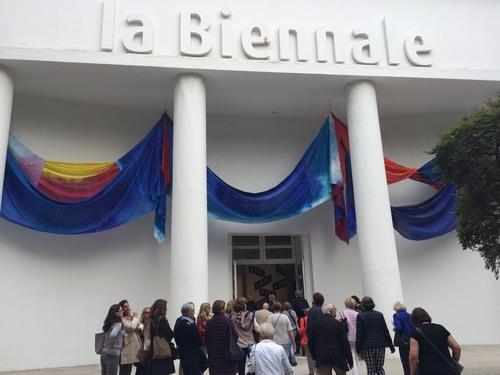 Venedig Biennale, Eingang